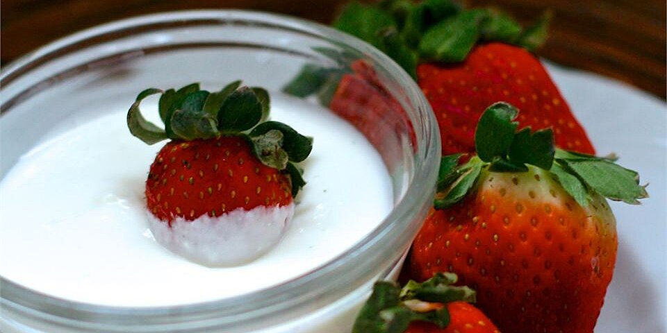 casey and leighs delightful fruit dip recipe
