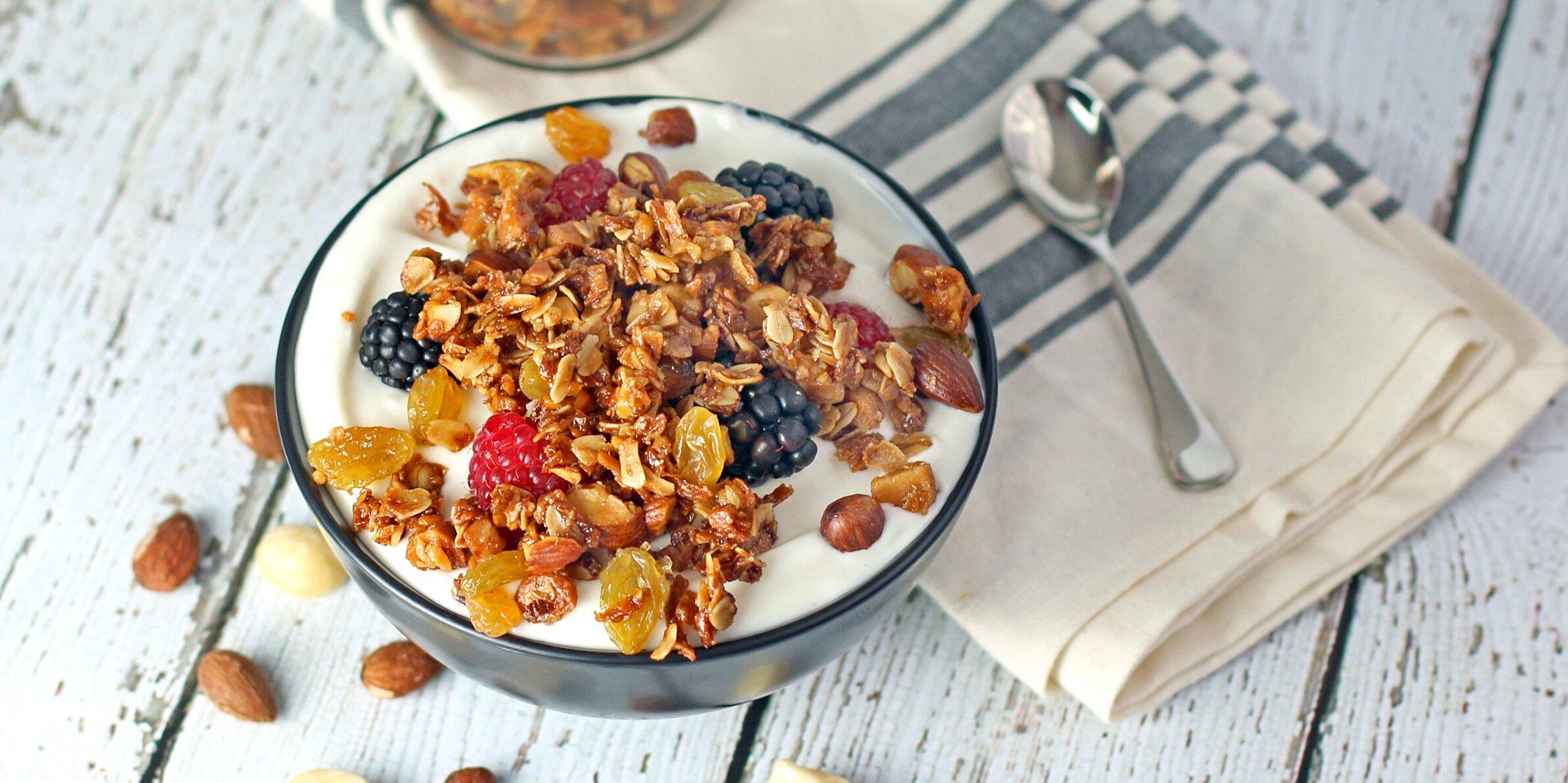 honey nutty granola recipe