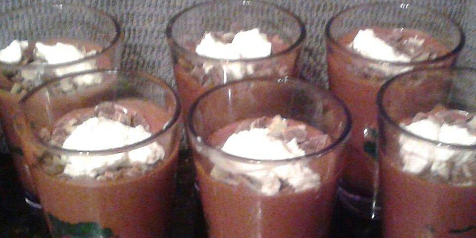 blender chocolate mousse recipe