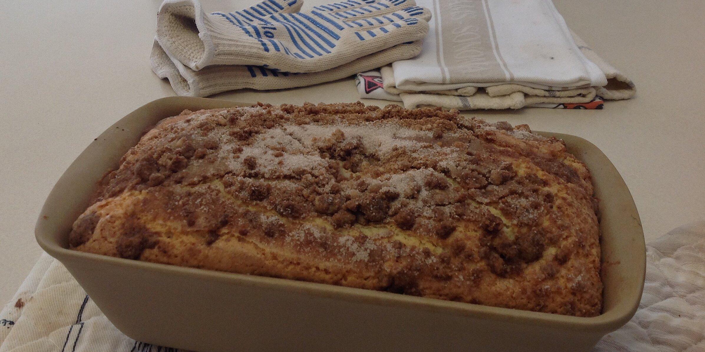 sour cream coffee cake iii recipe
