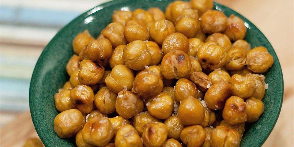 roasted salt vinegar chickpeas recipe