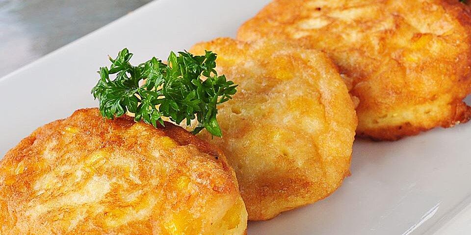 fresh sweet corn fritters recipe