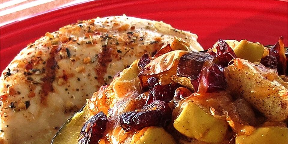 apple stuffed acorn squash recipe