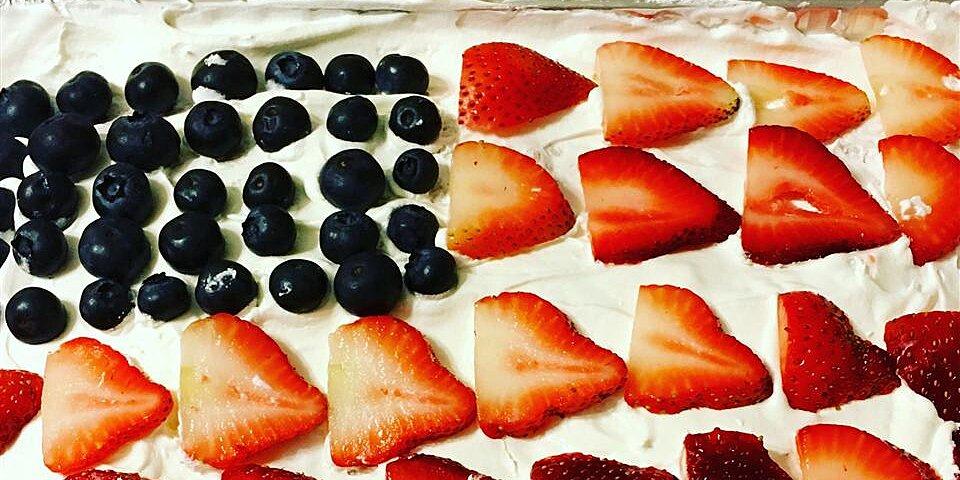red white and blue strawberry shortcake recipe