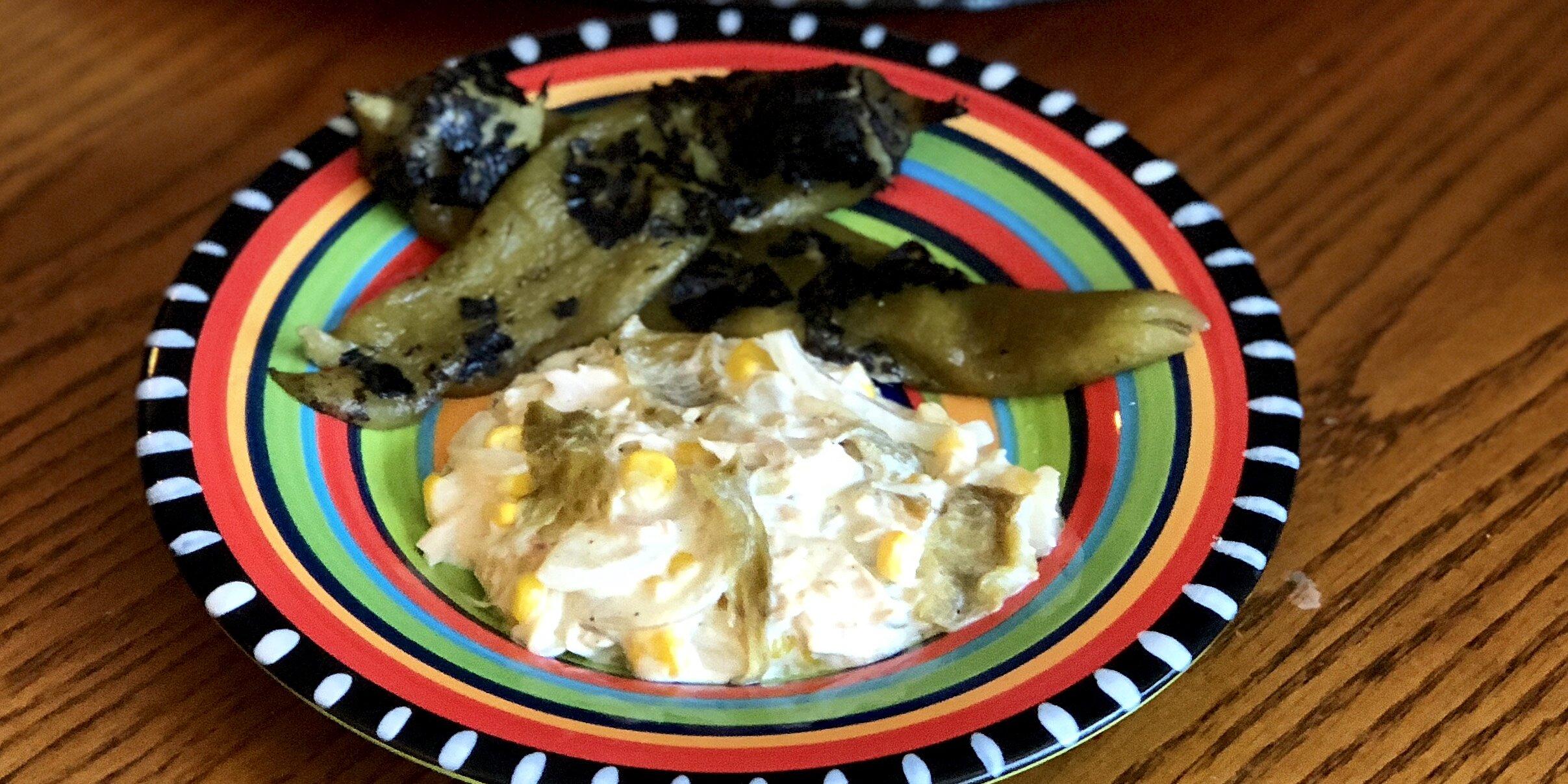 creamy hatch chile chicken recipe