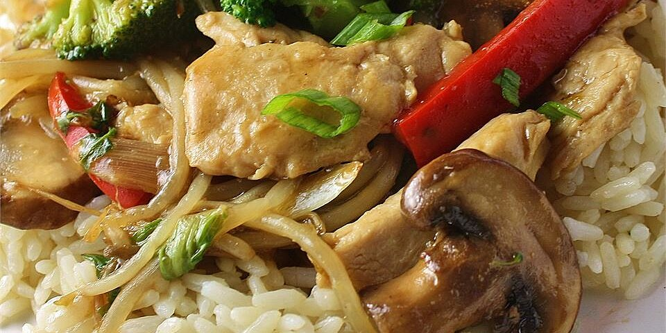 stir fry chicken and vegetables recipe