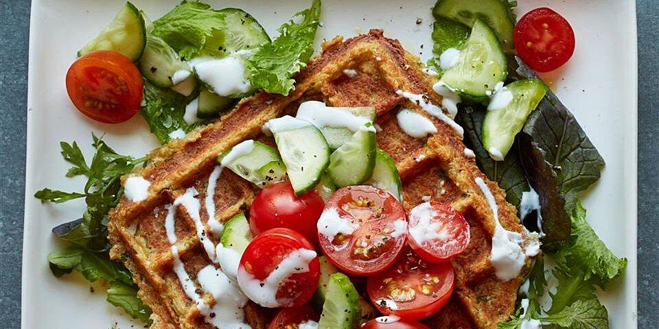 waffled falafel recipe