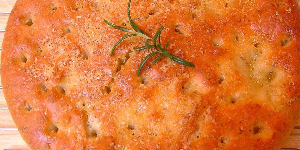 parmesan focaccia bread recipe