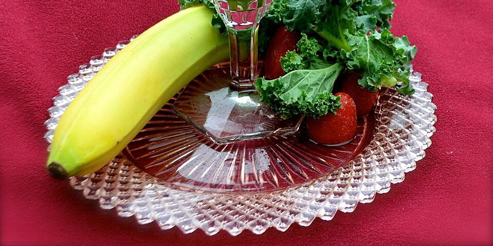 quick kale and banana smoothie recipe