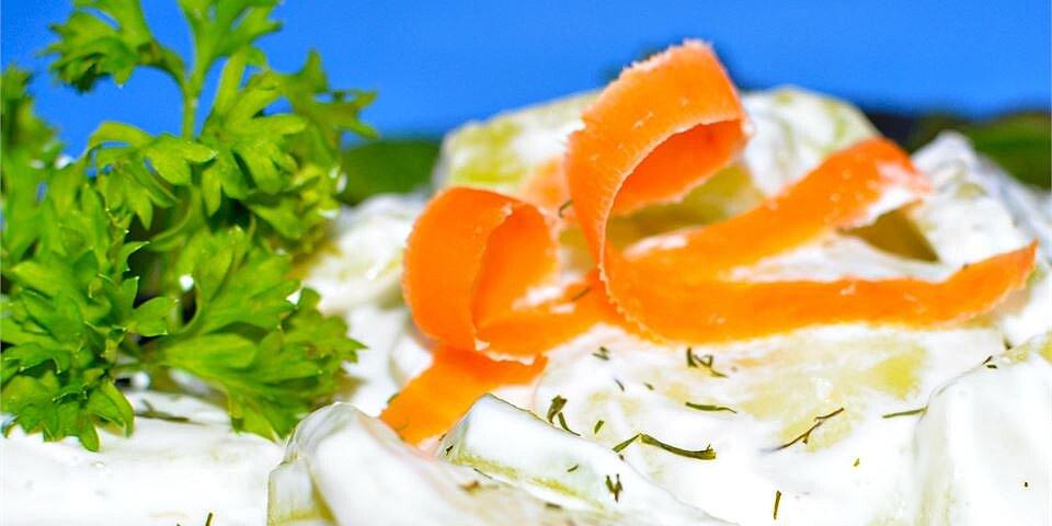 dill cucumber salad recipe