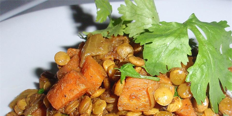 caribbean curried peas lentils recipe