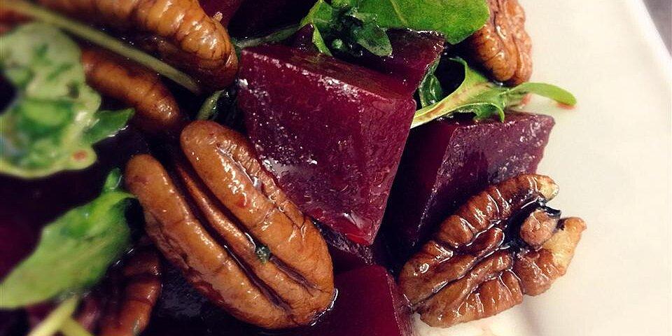 roasted beet arugula and walnut salad recipe