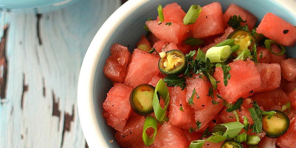 warm watermelon salad recipe