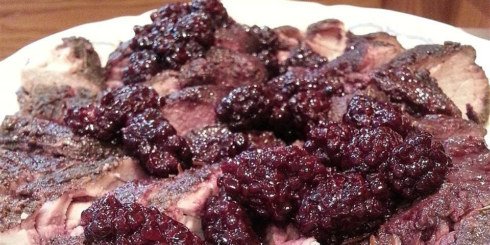 slow cooker blackberry pork tenderloin recipe