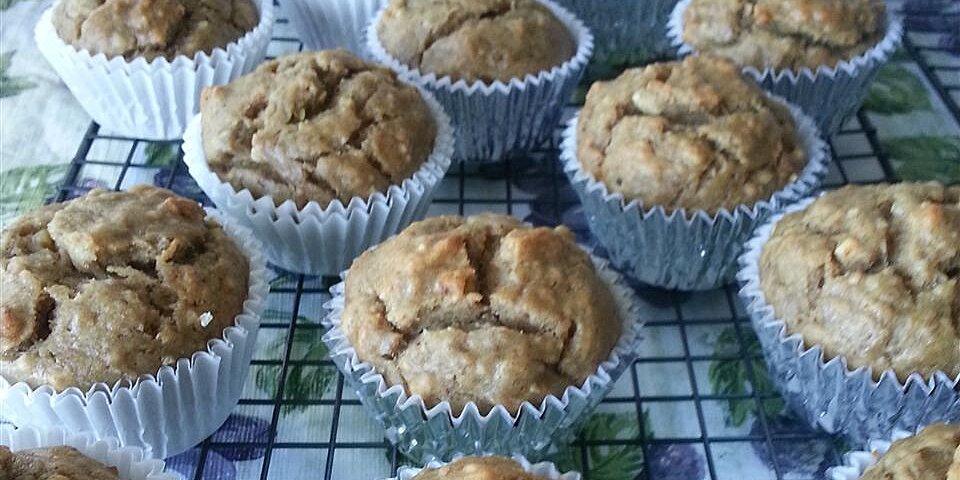 vegan banana nut muffins recipe