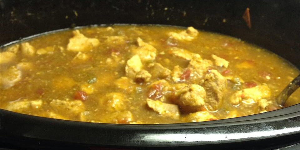 slow cooker chile verde recipe