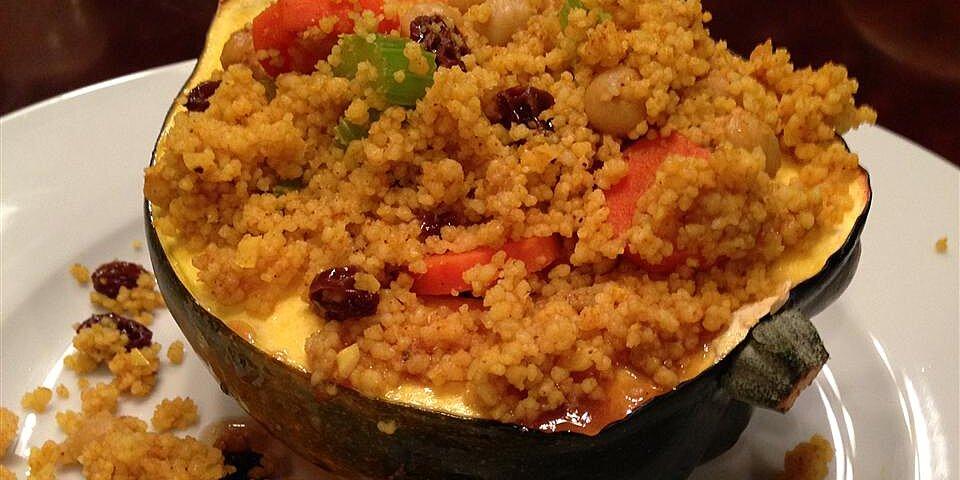 moroccan style stuffed acorn squash recipe
