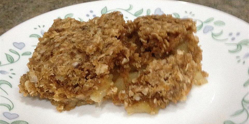 microwave apple crisp recipe
