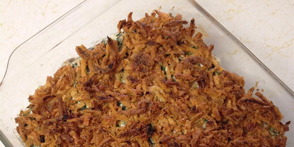 quick and easy spinach casserole recipe