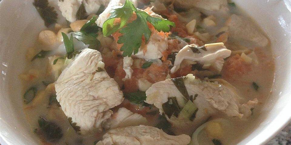 chicken in lemongrass coconut broth recipe