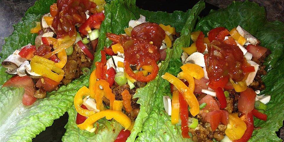 ground turkey taco lettuce wraps recipe