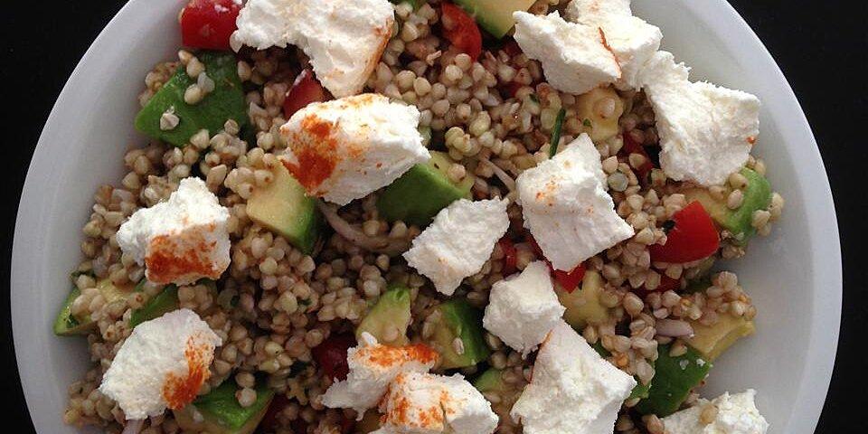 gluten free buckwheat avocado salad recipe