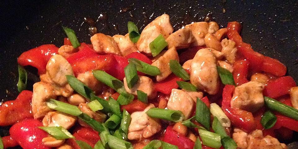 spicy peanut chicken stir fry recipe