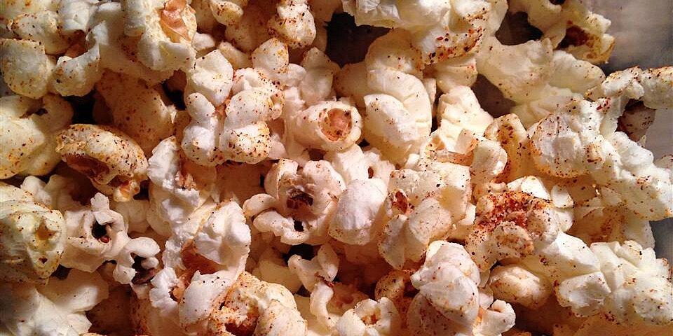Homemade Chili Seasoning Popcorn