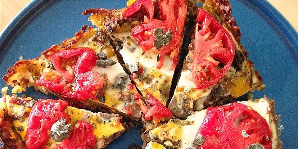 vegetarian breakfast casserole with hash browns
