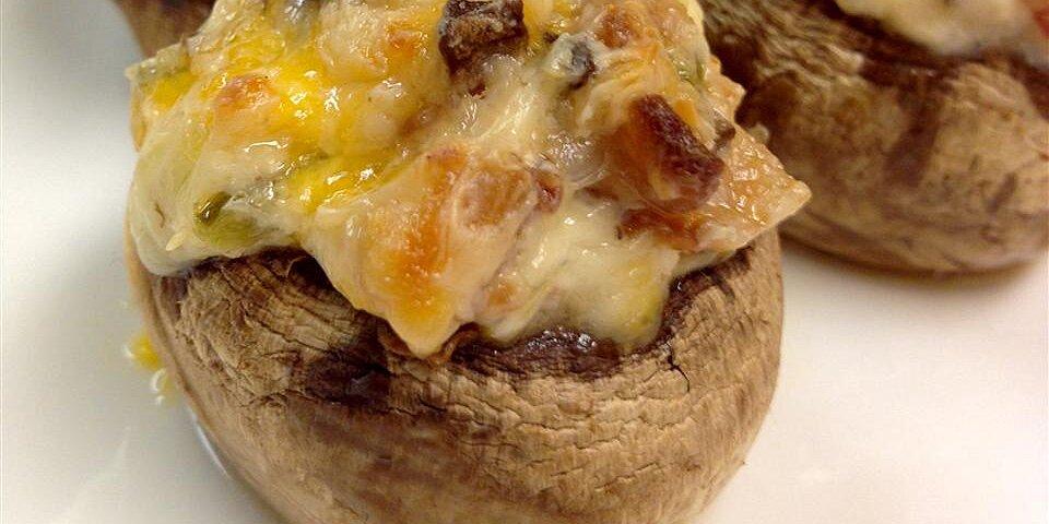 jalapeno popper mushrooms recipe
