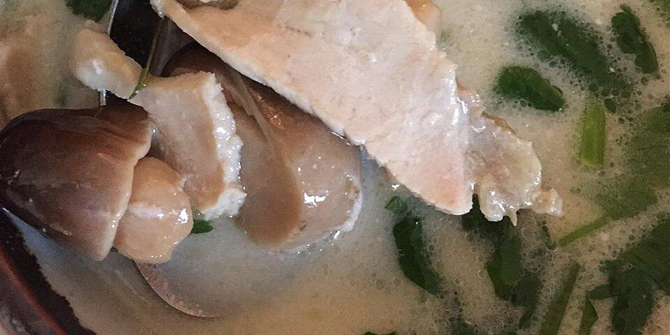 tom kha gai thai soup