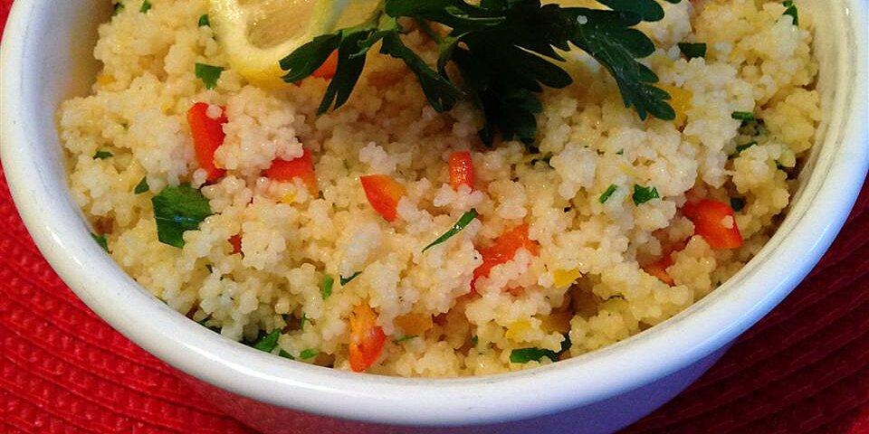 lemon couscous recipe