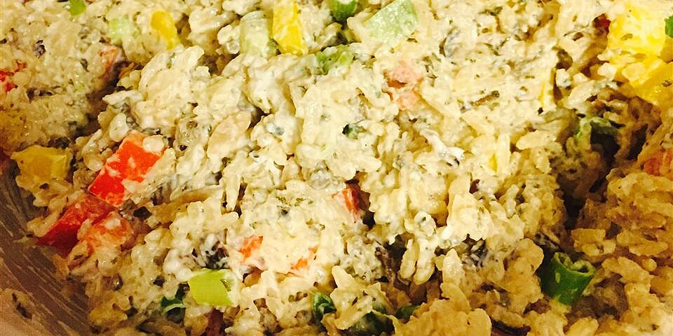 wild rice and pepper salad recipe