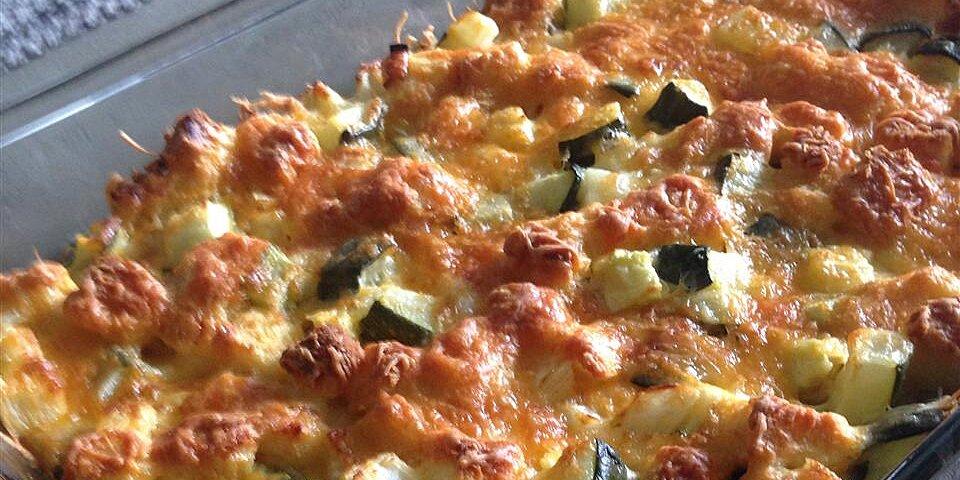 cheesy zucchini casserole i recipe