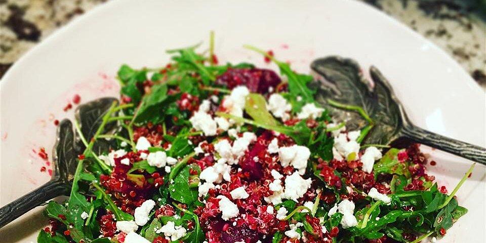 quinoa beet and arugula salad recipe