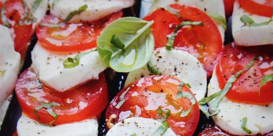 caprese stuffed zucchini recipe