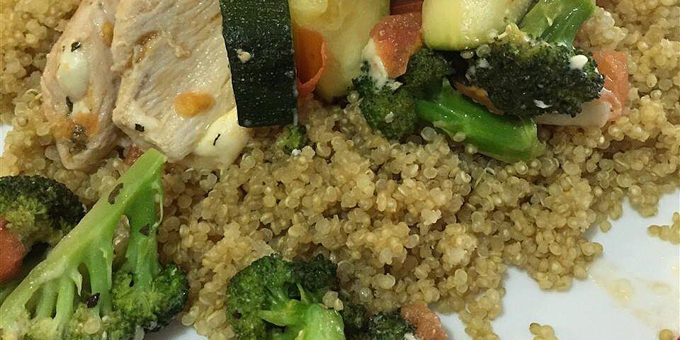 chicken with quinoa and veggies recipe