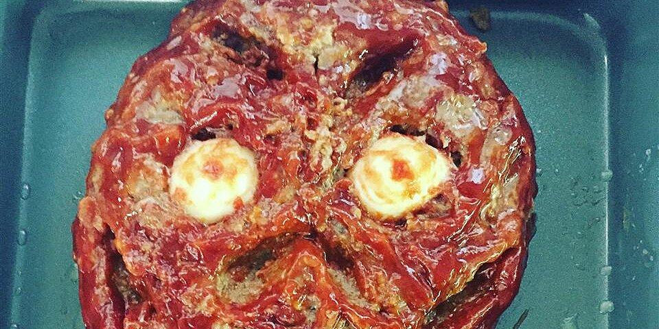 halloween zombie meatloaf recipe