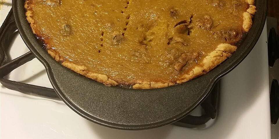 vanilla walnut pumpkin pie recipe