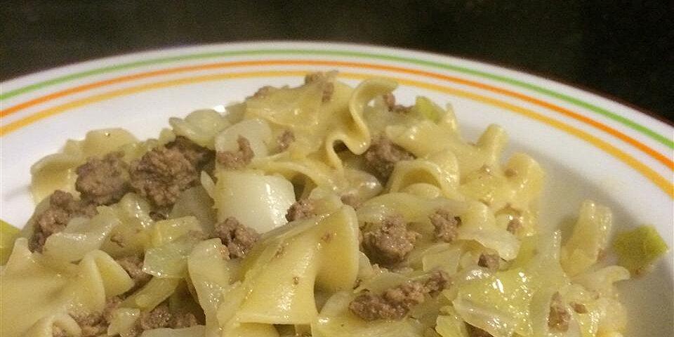 marks cabbage and hamburger delight recipe