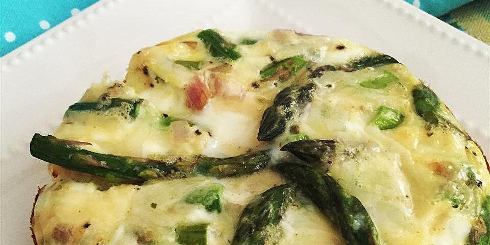 maple asparagus mini frittatas recipe