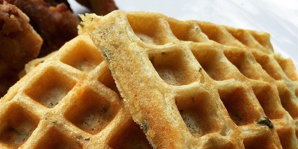 savory herb waffles recipe