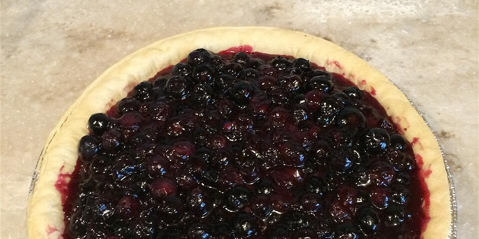 fresh blueberry pie ii recipe