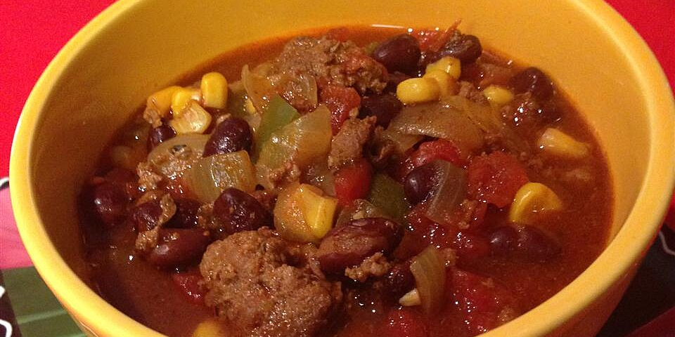 slow cooker taco soup with ranch dressing mix recipe