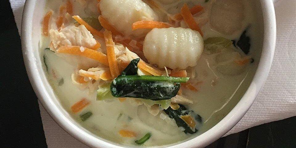 chicken and gnocchi soup recipe