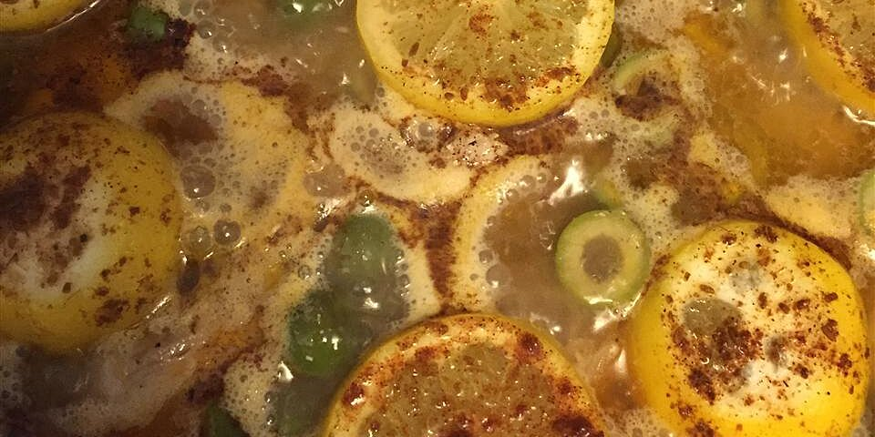 olive chicken i recipe