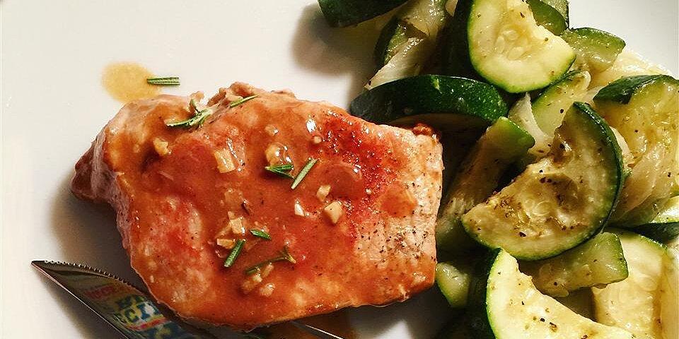 pork chops with apple cider glaze