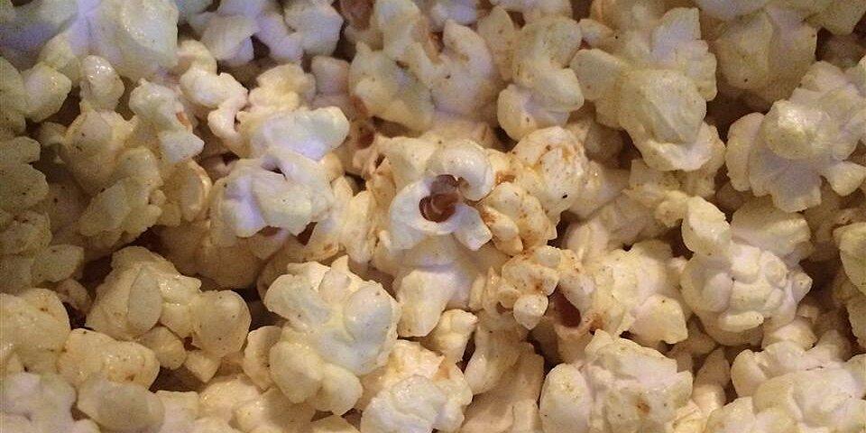 curried popcorn recipe