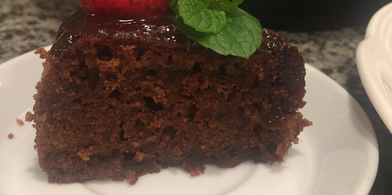 chocolate cake in the instant pot recipe