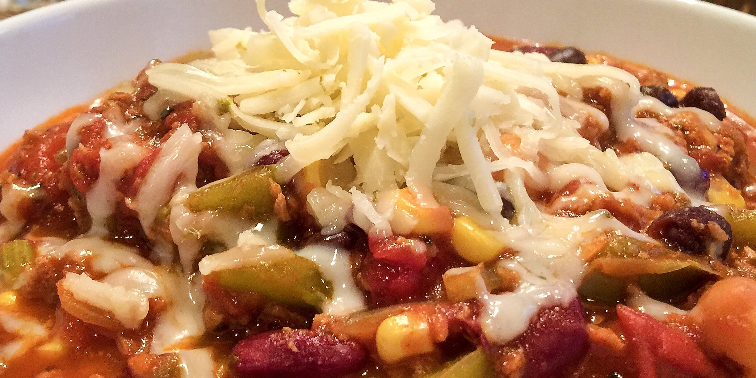 the best vegetarian chili in the world recipe